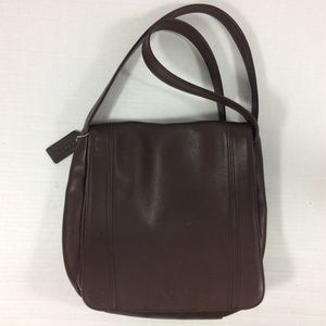 Coach leather cross body bag